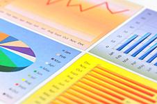 multicolor chart dashboard