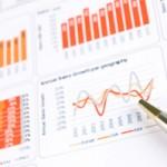 dashboard charts orange